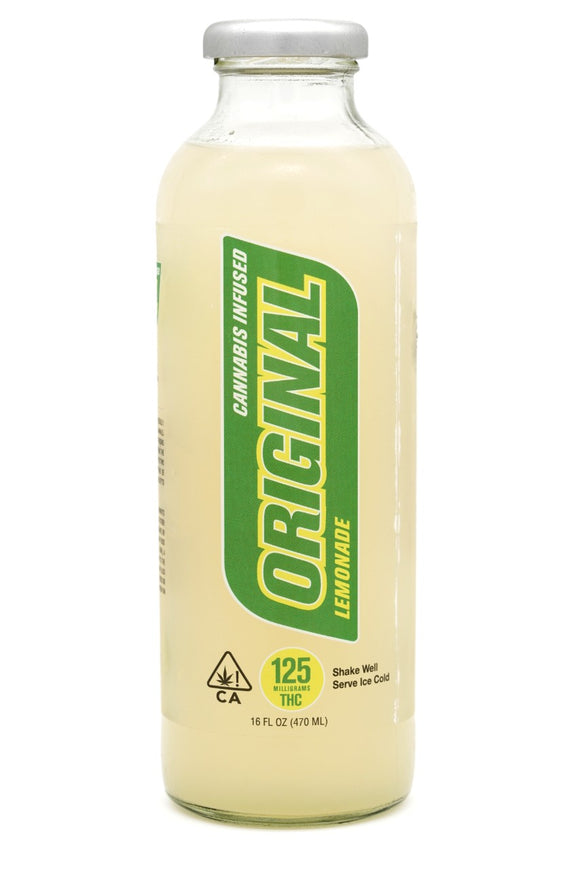 G Drinks - Original Lemonade 125mg
