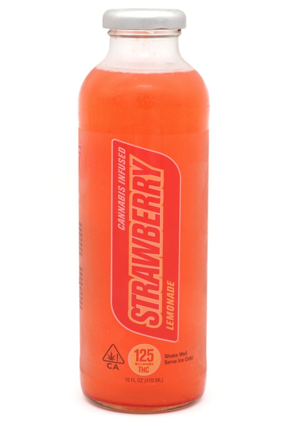 G Drinks - Strawberry Lemonade 125mg
