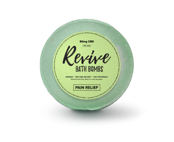Revive Bath Bomb: Pain Relief