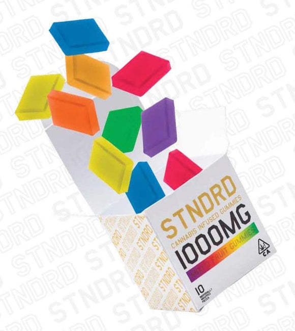 *Stndrd Company* Mixed Fruit 1000mg Gummies