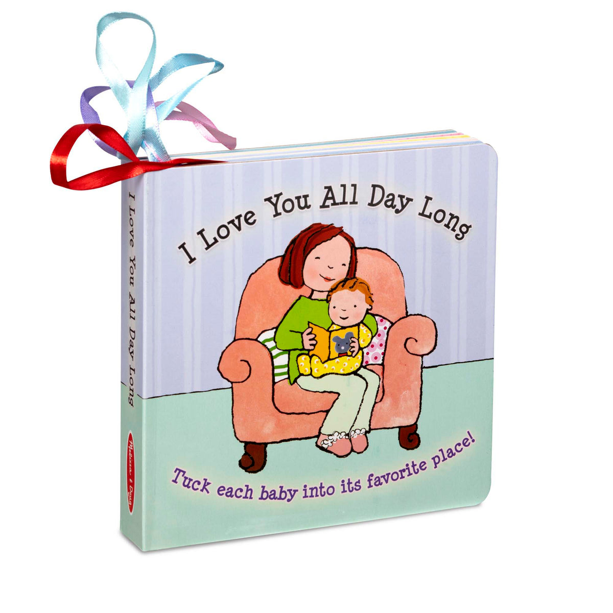 "Melissa & Doug ""I Love You All Day Long"" Board Book"