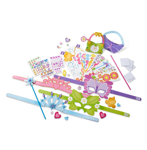 Melissa & Doug Created by Me! - Princess Collection Paper Craft Kit