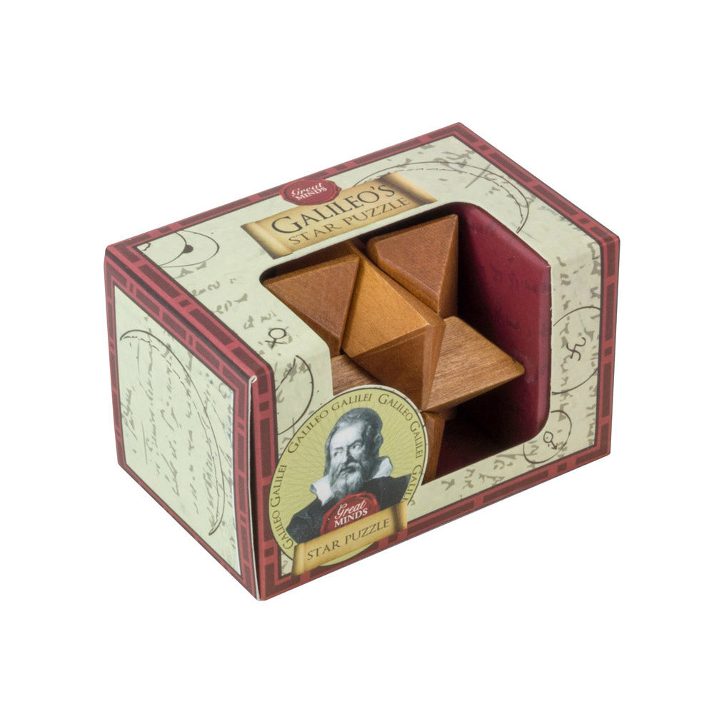 Great Minds Mini Wooden Puzzles