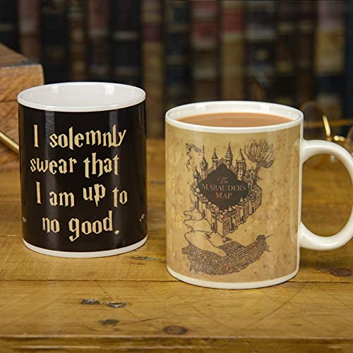 Harry Potter Marauder's Map Heat-Changing Mug