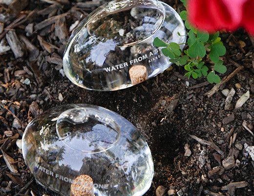 Plant Watering Glass Stones