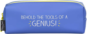 """Behold the tools of a genius"" Pencil Case"