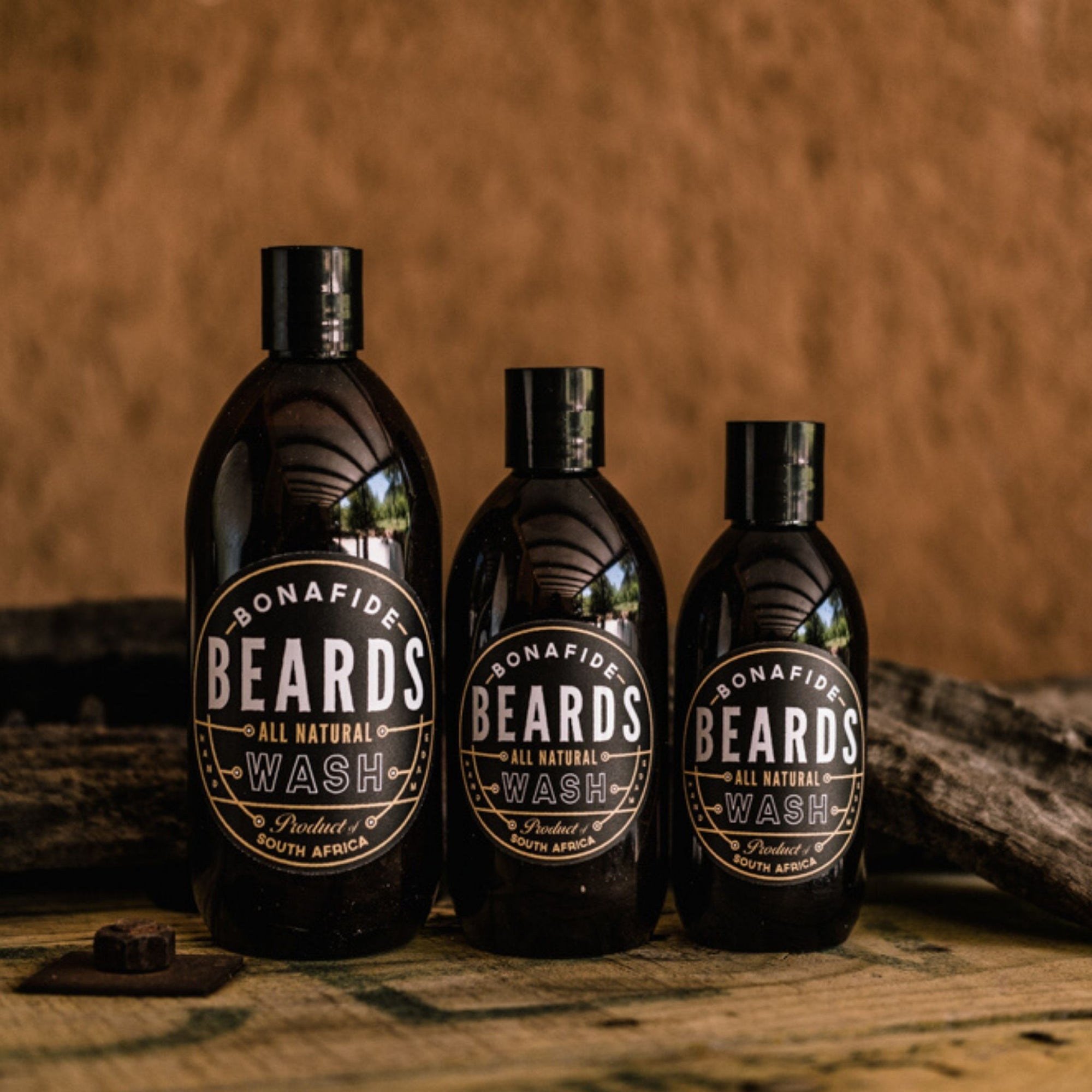 Bonafide Beards All Natural Beard Wash (200ml)