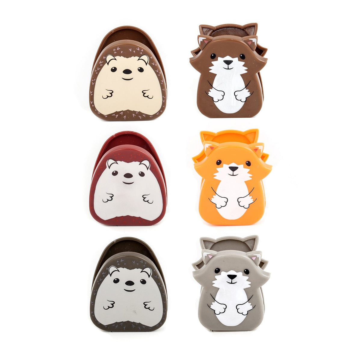 Woodlands Creatures Bag Clips