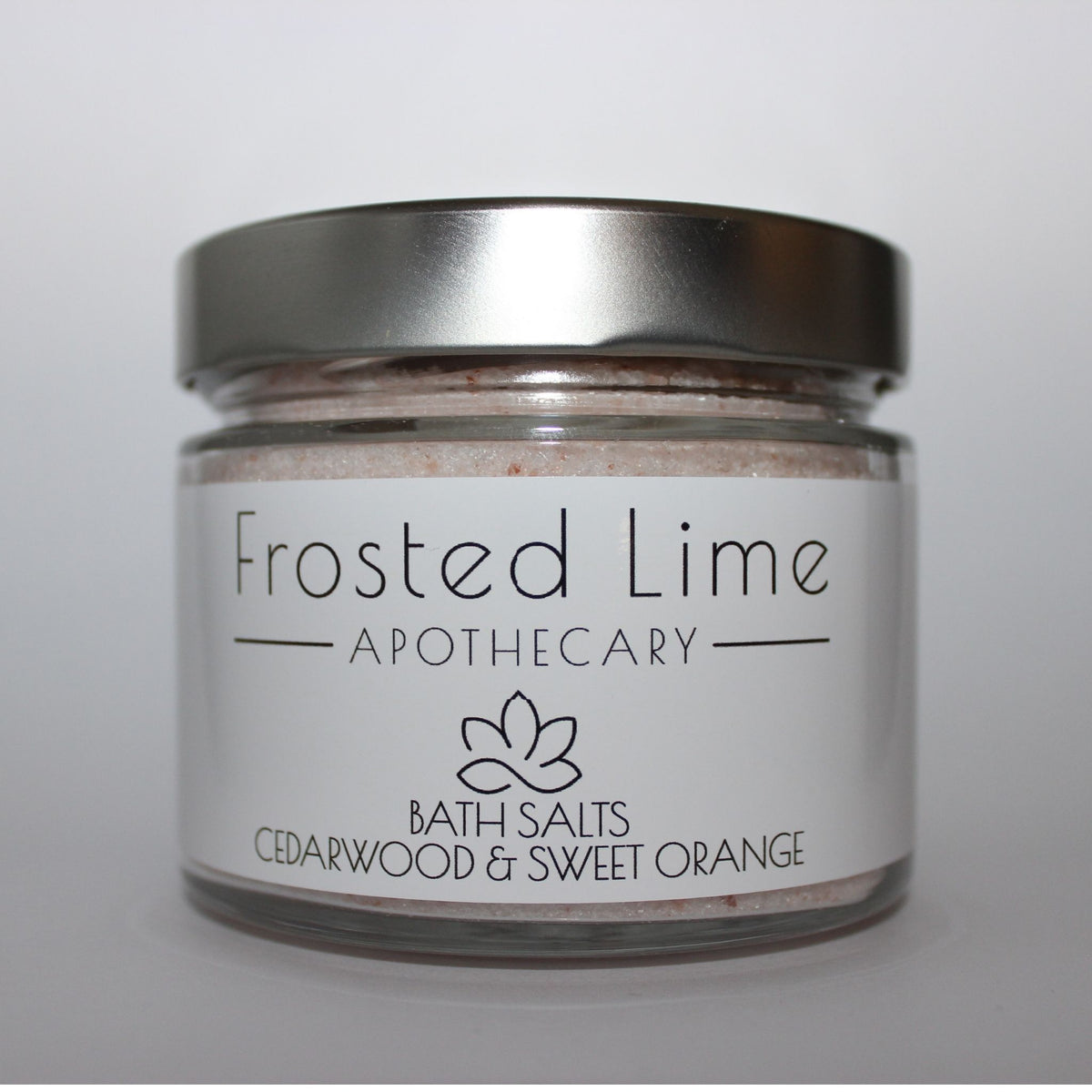 Frosted Lime Apothecary – Bath Salts (assorted)