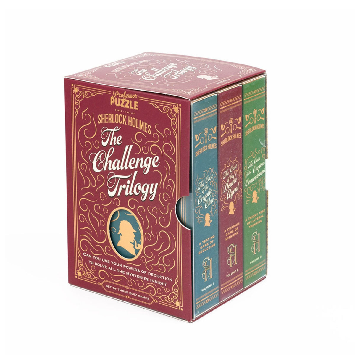Sherlock Holmes: The Challenge Trilogy