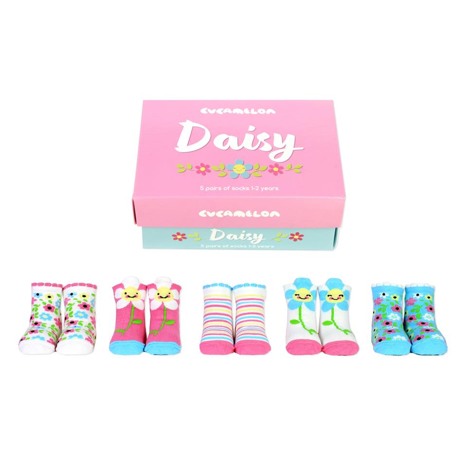 Daisy Toddler Socks (1-2 years)