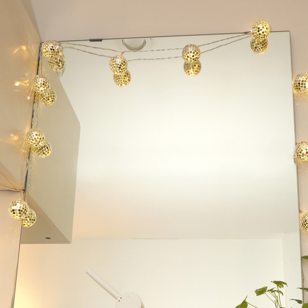 Disco Ball String Lights
