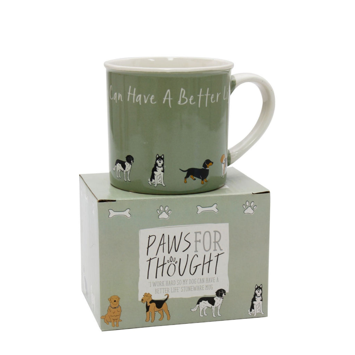Paws for Thought Dog Lover's Mug
