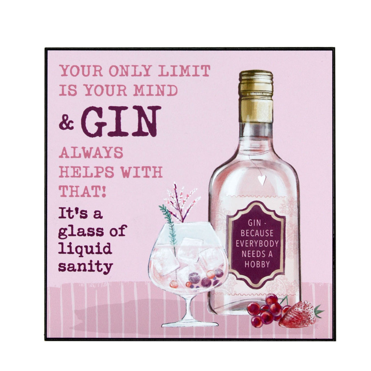 Gin Talk Wall Art
