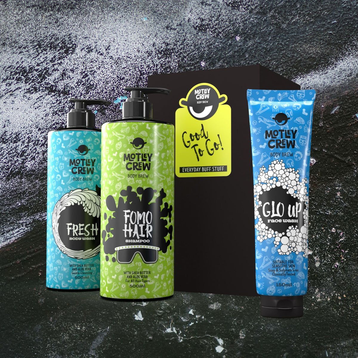 Motley Crew Toiletries for Tweens - Gift Boxes