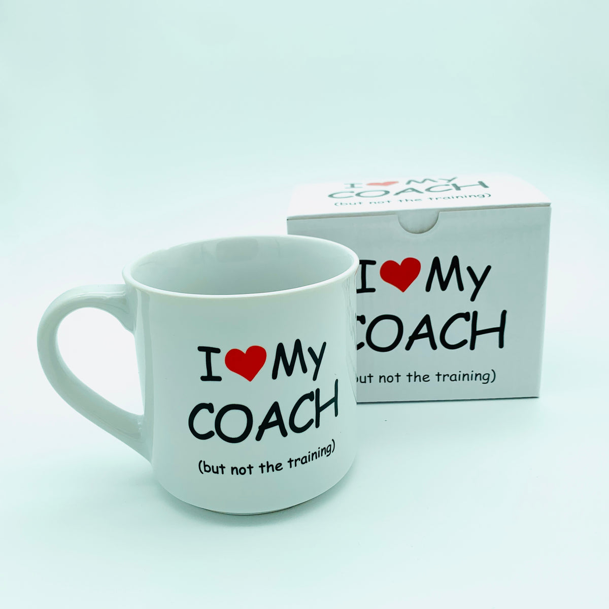 """I Love My Coach"" Mug"