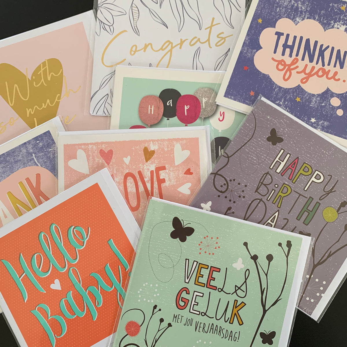 Greetings Cards (assorted sizes and occasions)