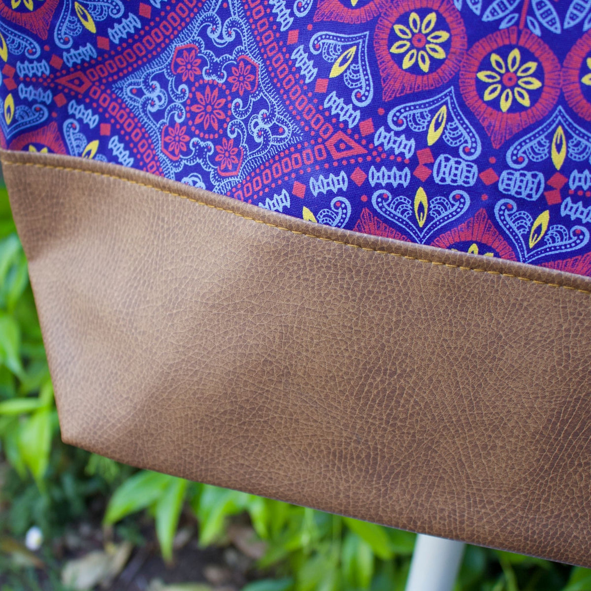 Shwe Leather-Look Tote Bag