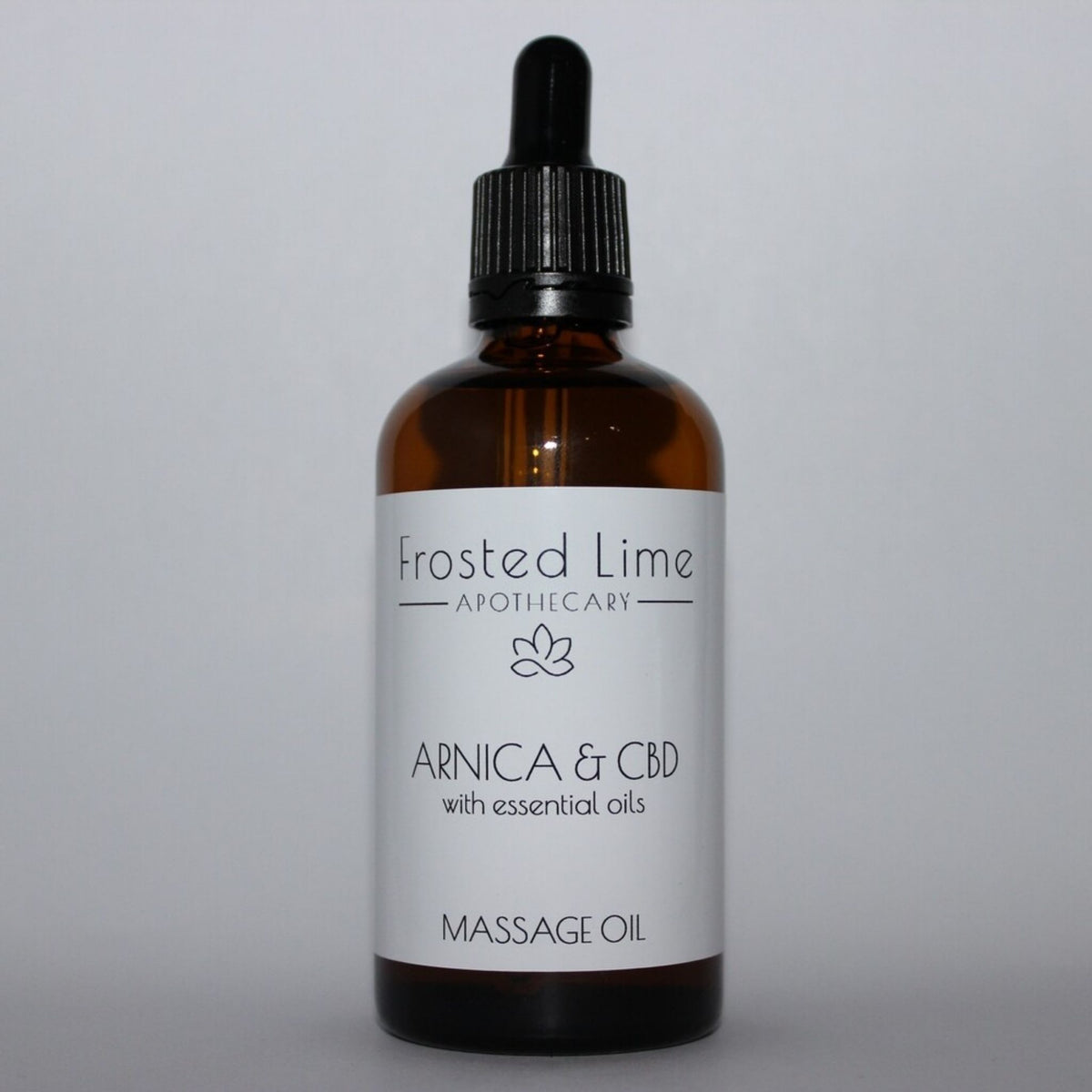 Frosted Lime Apothecary – Arnica & CBD Massage Oil