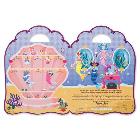 Melissa & Doug Puffy Sticker Play Set (assorted designs)