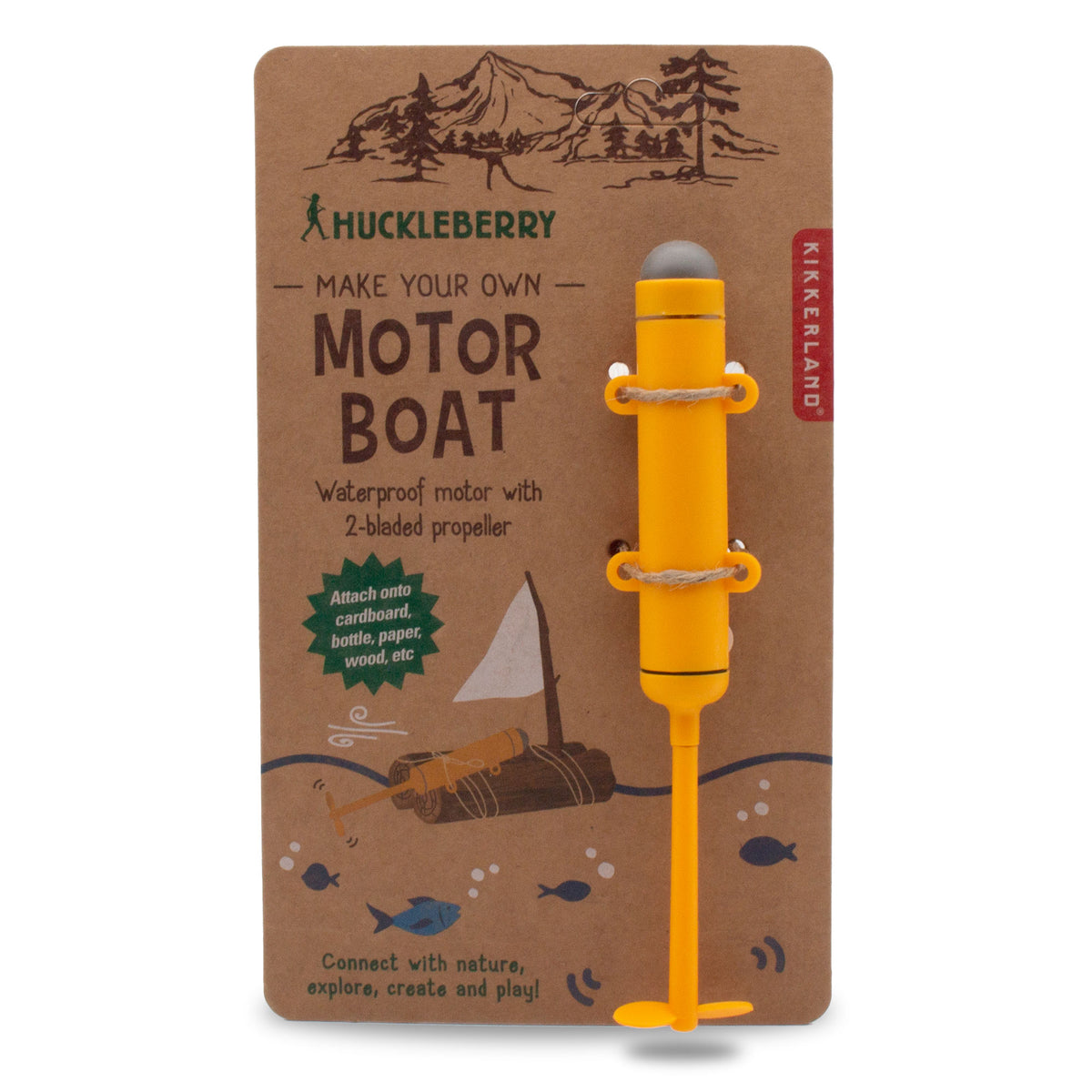 Huckleberry Motorboat Kit
