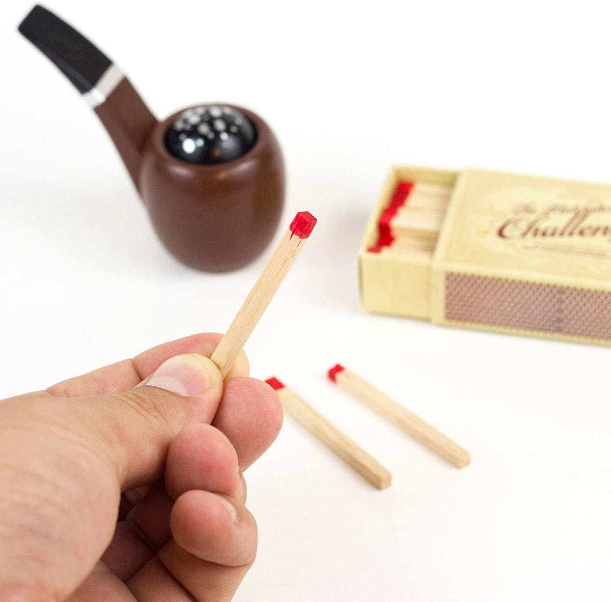 Sherlock Holmes: The Case of the Smoking Pipe (Matchstick Challenges)