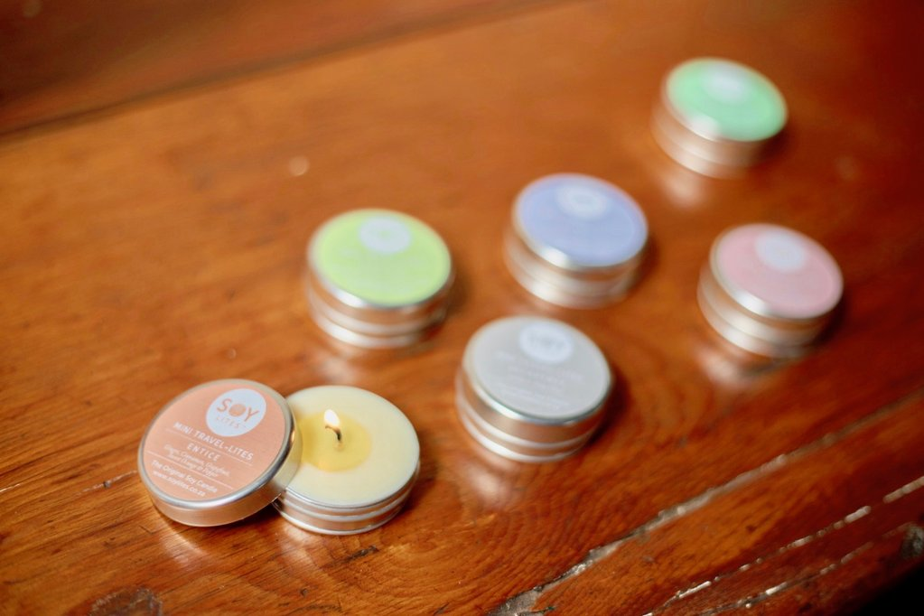 Soylites Mini Travel-Lite Aromatherapy Candles (6 x 15ml)