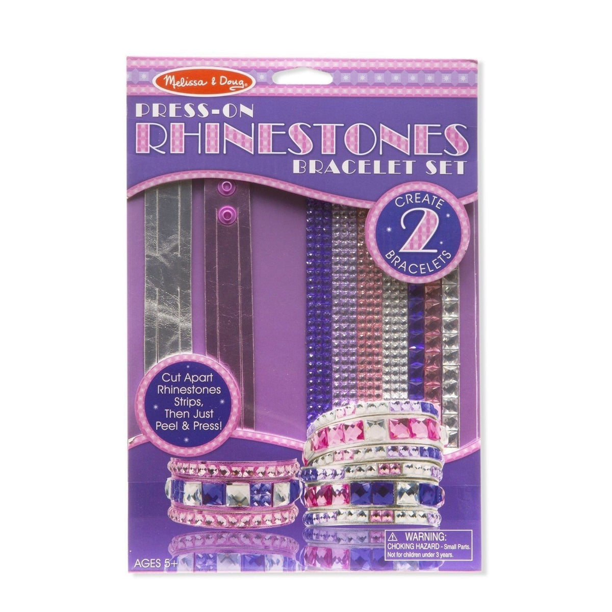 Melissa & Doug Press-On Rhinestone Craft Sets (assorted)