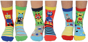 Robo-Socks Kids' OddSocks (shoe size 9-12)