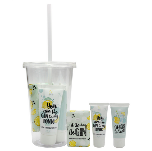 Happy Hour Gin Sippy Cup Gift Set