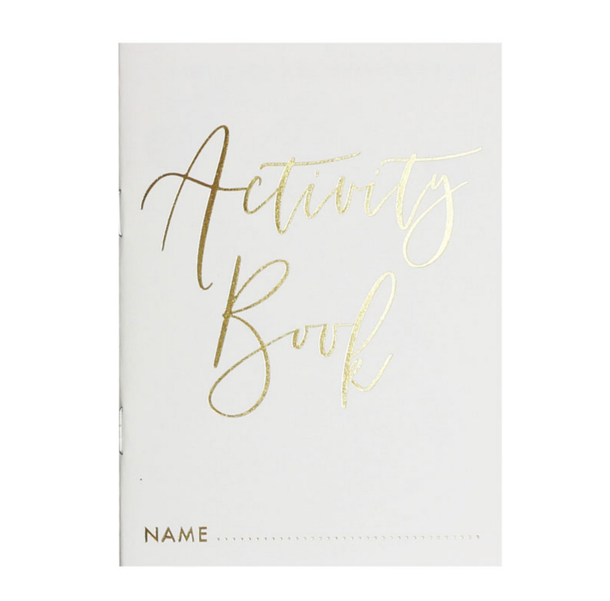 Gold Inspiration Wedding - Kids' Activity Books