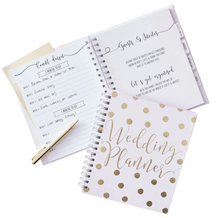 Load image into Gallery viewer, Gold Inspiration Wedding - Luxury Gold Foiled Wedding Planner