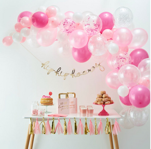 Balloon Arch Kit - Pink
