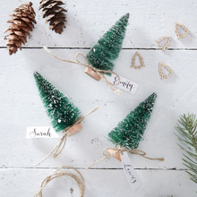 Load image into Gallery viewer, Christmas Tree Place Card Holders