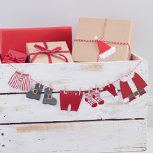Load image into Gallery viewer, Christmas Clothesline Bunting