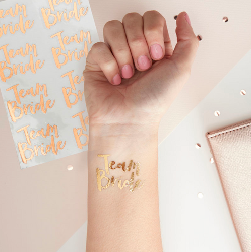 Team Bride - Hen Party Temporary Tattoos