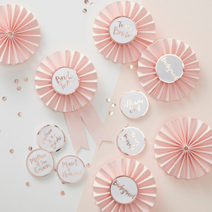 Team Bride - Bridal Party Badges