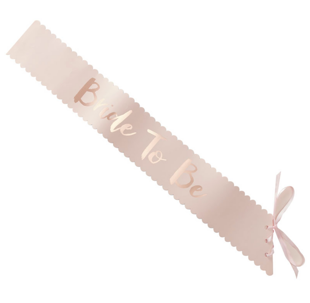 "Team Bride - ""Bride-to-Be"" Sash"