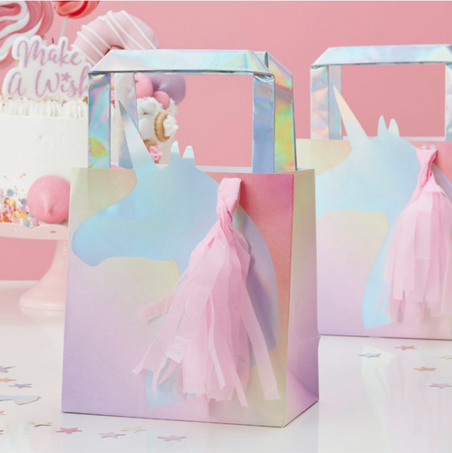 Make a Wish Unicorn Party - Iridescent Goodie Bags