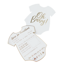 Load image into Gallery viewer, Oh Baby! - Baby Shower Advice Cards