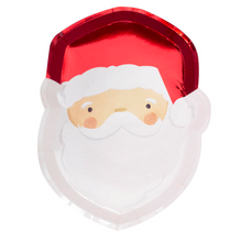 Load image into Gallery viewer, Silly Santa Paper Plates