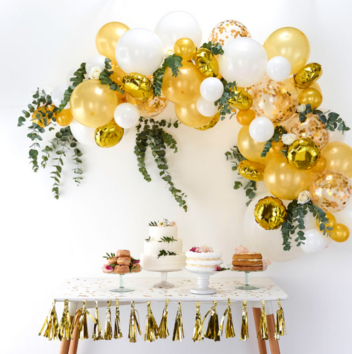 Balloon Arch Kit - Gold