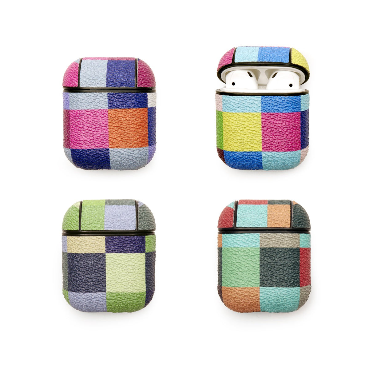 Plaid Earbud Case (assorted designs)