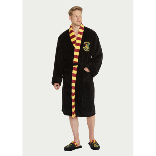 Harry Potter Hogwarts Men's Dressing Gown