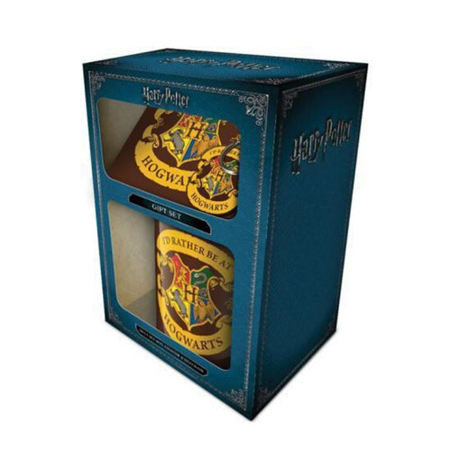 "Harry Potter ""I'd Rather Be At Hogwarts"" Gift Set"