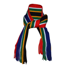 Load image into Gallery viewer, South African Flag Scarf