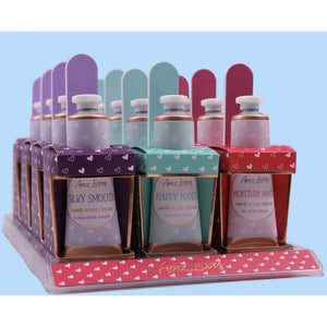 Sweet Treats Hand Cream & Nail File Gift Set
