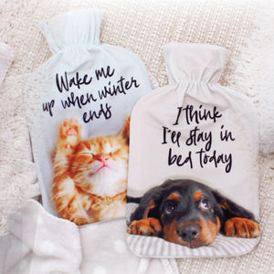 Cosy Dog and Kitty Hot Water Bottles