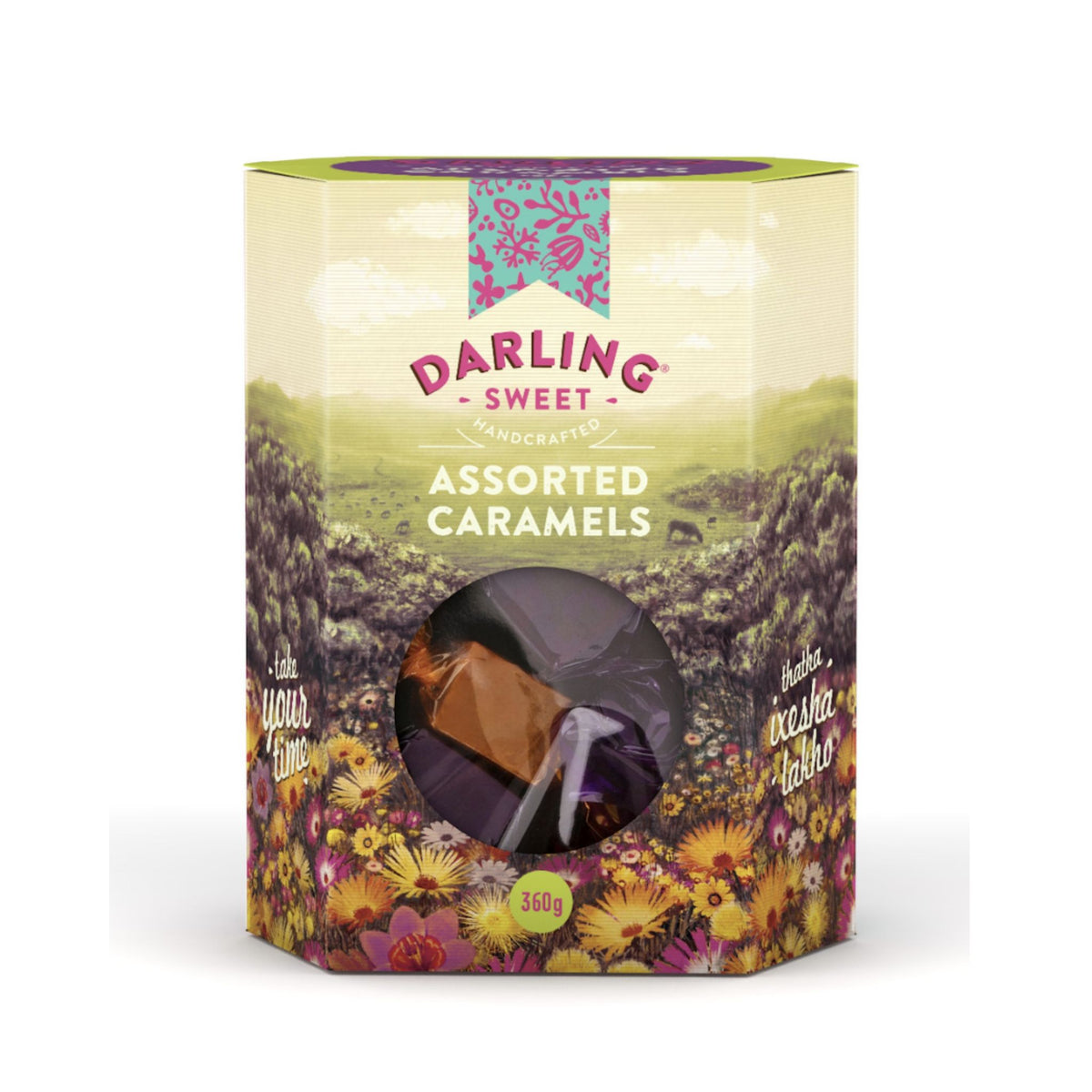 Darling Sweet Assorted Soft Caramels Gift Box (360g)