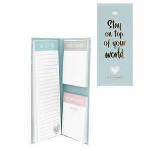 """Inspire"" Memo Pad Set - Stay On Top"